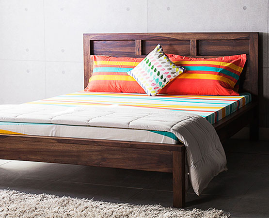 City Queen Bed