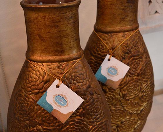 CR Golden Vase