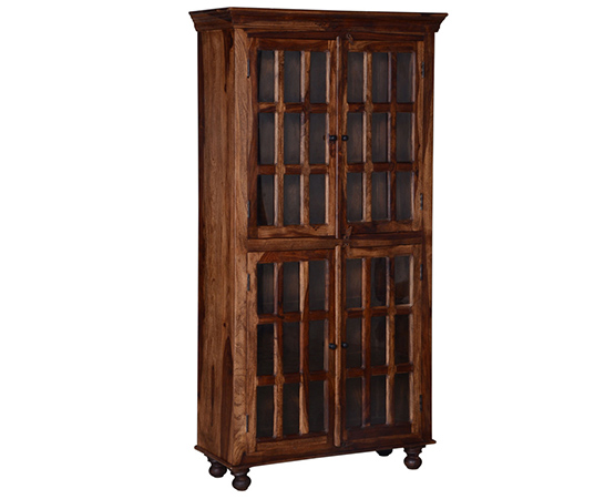 Colonial Cresent Book Case