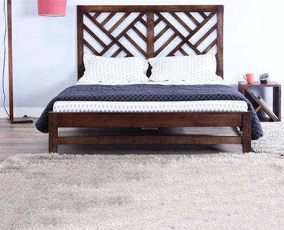 Leaf King Bed