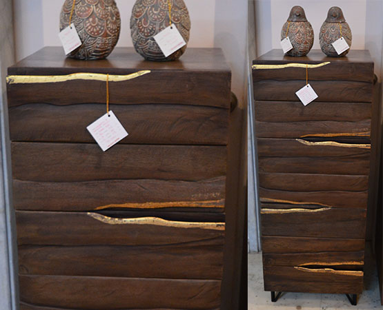Live Edge Chest Of Drawers