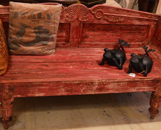 Red Antique Furniture