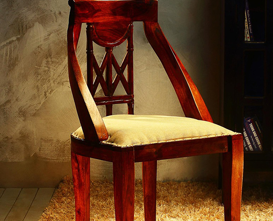 Sophisticated Wood Dining Chair