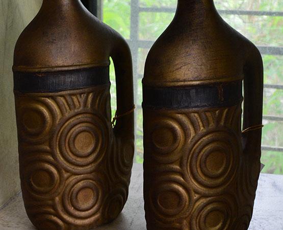 TC Vase Golden