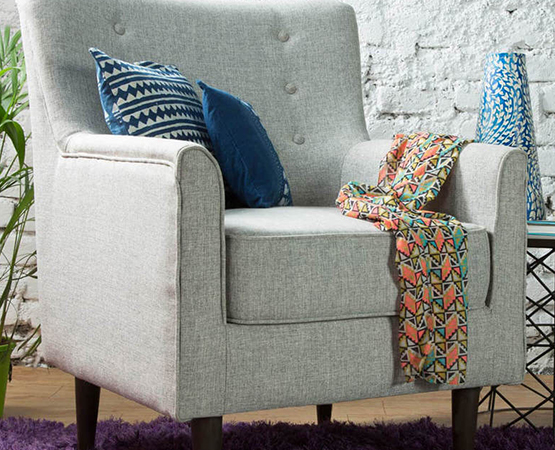 Chic Flick Upholstered Sofa