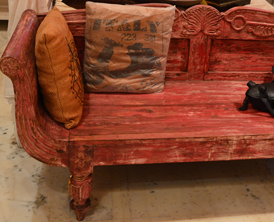 Carving Wooden Sofa