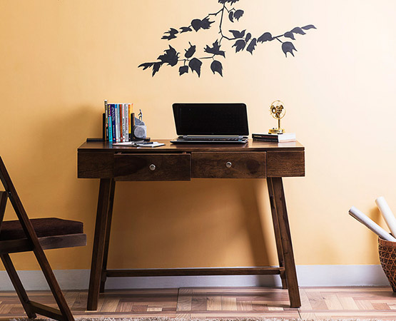 Wooden Whimsy Study Table