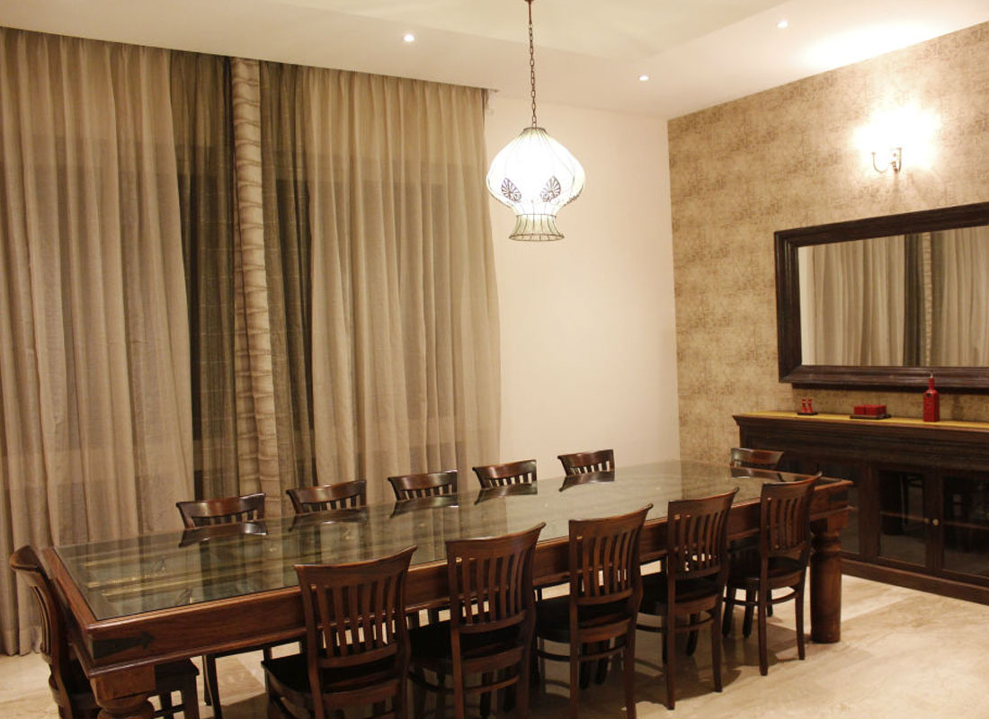 Twelve Seater Dining Table Set